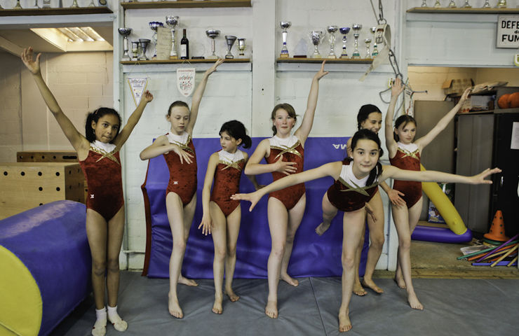 Club de Gymnastique aux agrés