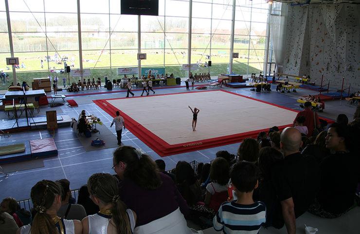 Compétition de gymnastique UFOLEP