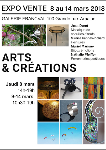 Expo arts et cr ations - Kiosque famille cabries ...