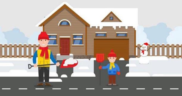 d neiger devant chez soi le saviez vous ville d 39 arpajon. Black Bedroom Furniture Sets. Home Design Ideas